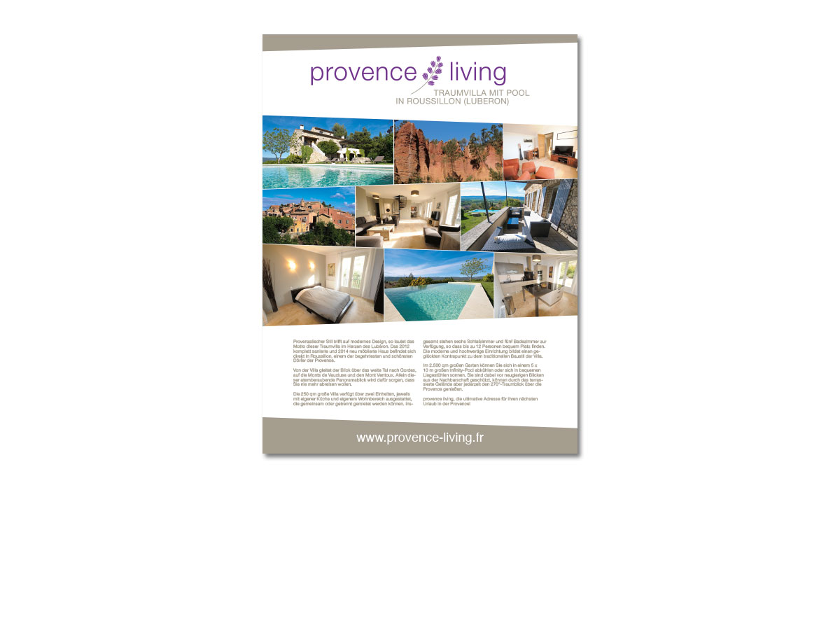Provence Living Anzeige
